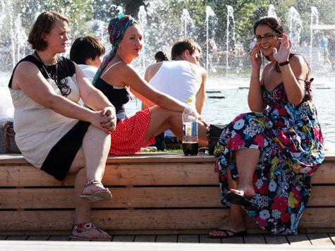 Лето в Москве стало жарче, по мнению сплюшек