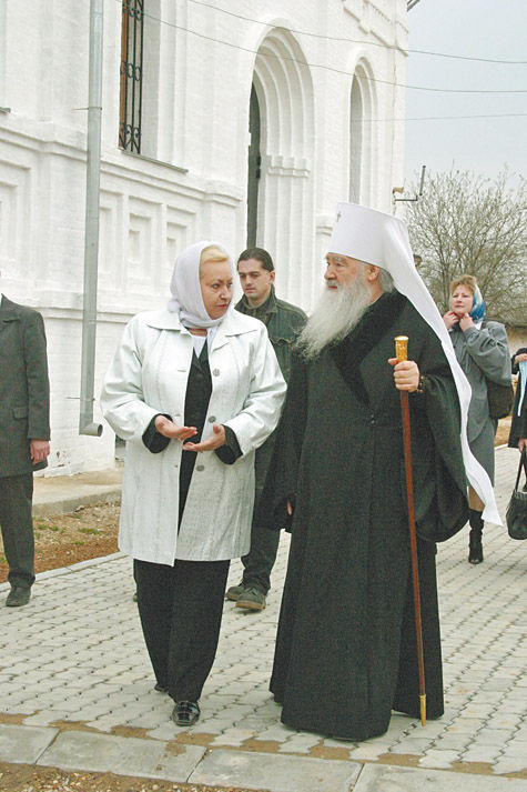«Когда монастырь будет окончательно восстановлен, все в нашей стране пойдет хорошо»…