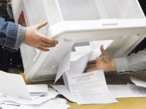 Избиратели сдают явку