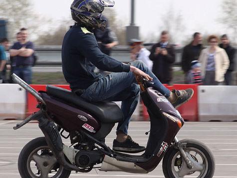 Водителей скутеров и квадроциклов заставят получать права