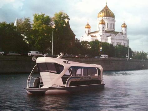 По Москве-реке поплывет автобус