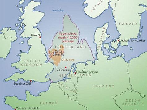 На дне Северного моря обнаружена «британская Атлантида»