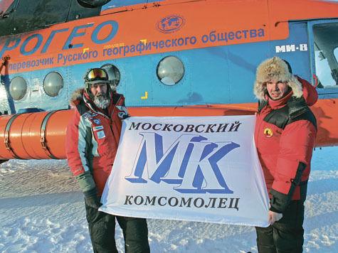 Федор Конюхов бросил вызов вечному холоду