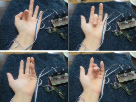 Новое устройство научит вашу руку играть на гитаре