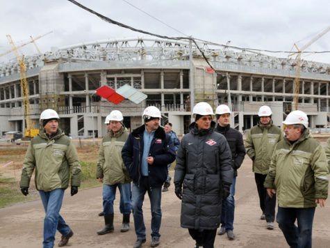 Арену для «Спартака» откроют Владимир Путин и мадридский «Реал»