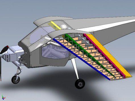 Первый в истории самолёт с