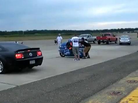 Американский мотогонщик разбился, так и не поставив новый мировой рекорд – 482 км/час
