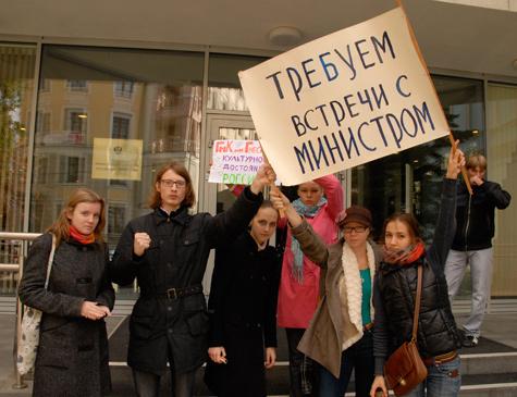 Дирекция объединенной Гнесинки обещает расправиться с забастовщиками