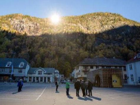 Экстрапроект: Норвежцы будут греть свои деревни зеркалами
