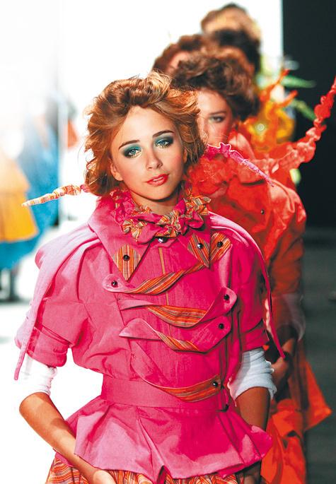 Русская мода —  с мехом и плеткой