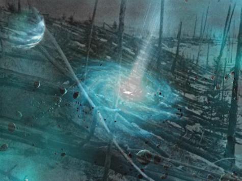 Новая гипотеза: тунгусский метеорит был белой дырой, вылетевшей из недр Земли