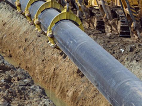 Газопровод уперся в эпоху бронзового века