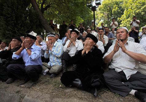 Киргизский пожар тушили вМоскве