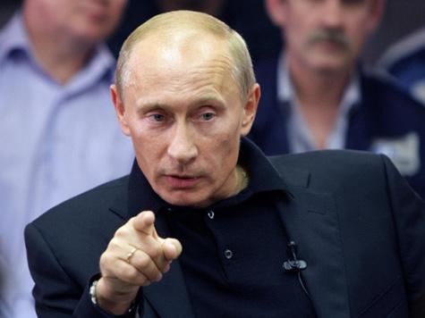 Путина чуть не встретили неправильным флагом