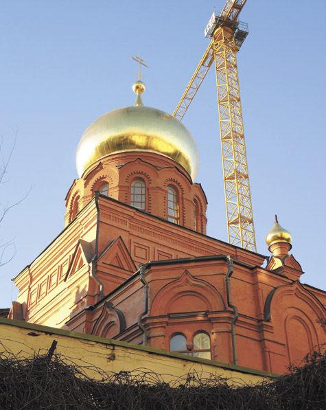 Храм святого князя Владимира реконструируют по распоряжению президента