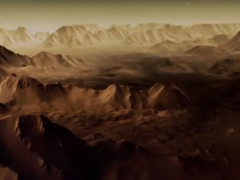 Создан первый трехмерный фильм-путешествие про Марс