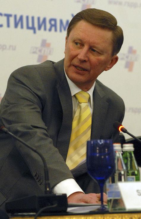 Сергей Иванов: «А что производят в Москве, я не понимаю»