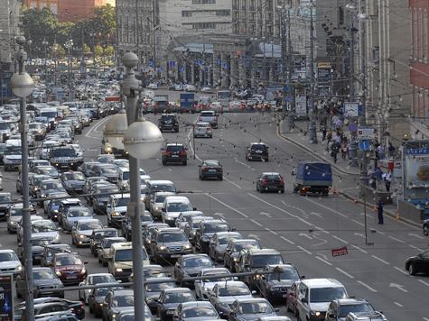 Репетиция парада Победы парализовала Москву