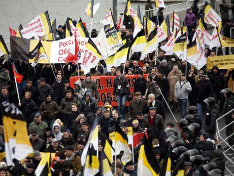 «Русский марш» под шифрованным лозунгом