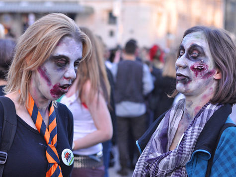 Белградские зомби помогают престарелым