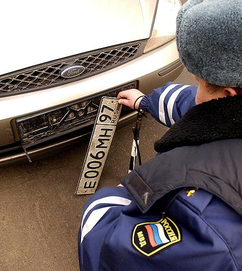 Без кода городов автомобильные знаки будут через 10—20 лет