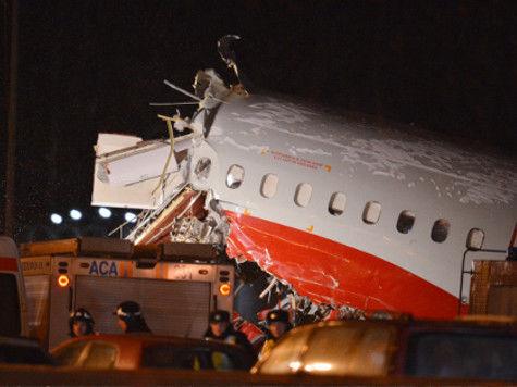 А автомобиль аэродромного тушения был на ремонте, что усложнило тушение