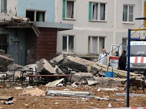В Подмосковье объявлен траур по жертвам взрыва в доме