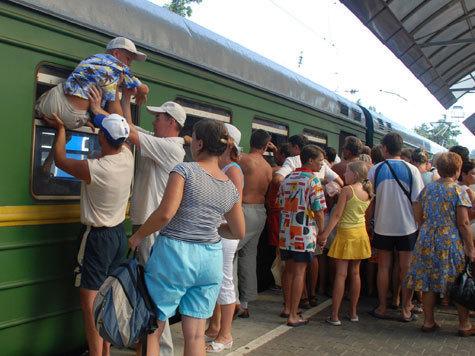 На железной дороге разворачивается рейсовая война