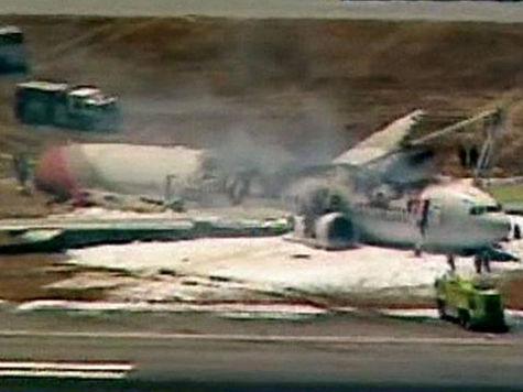У пилота разбившегося в Сан-Франциско «Боинга-777» было всего 43 часа полетов на этом самолете