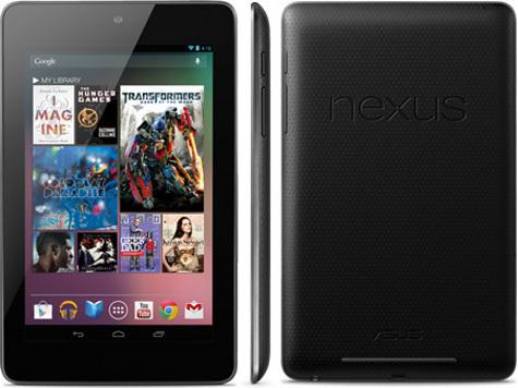 Компания Google официально представила свой планшетник Nexus 7