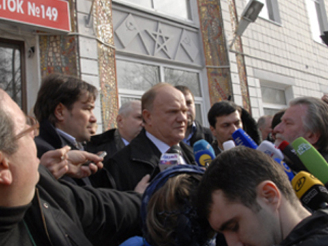 Электорат самым активным нарушителем назвал Зюганова