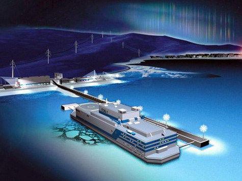 Русские строят первую в мире плавучую атомную электростанцию