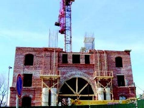 Строительство колокольни продолжается
