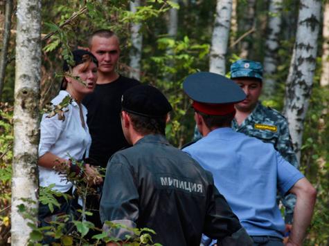 Бои разгораются в Химкинском лесу с новой силой