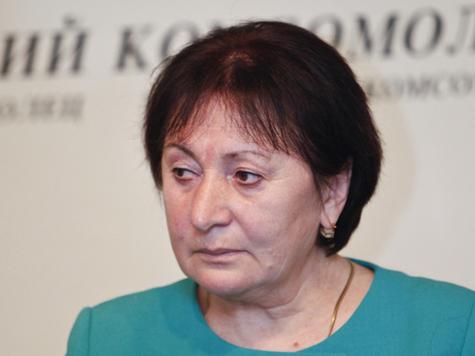 Алла Джиоева захвачена представителями силовых структур