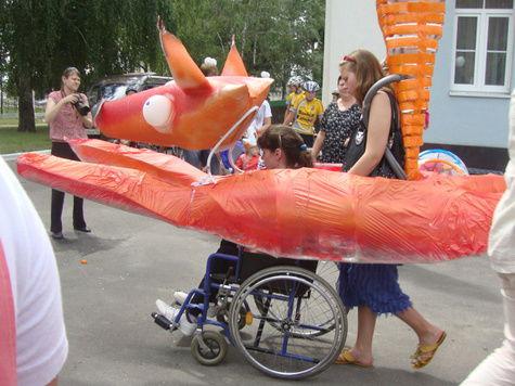 В Выксе прошли карнавал и концерт для инвалидов