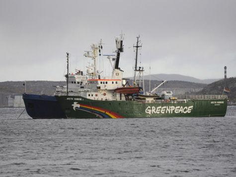 Greenpeace отрицает, что на Arctic Sunrise были наркотики