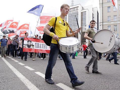 Марш «политэксгибиционистов»