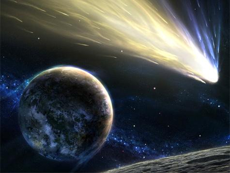 Комета ослепит землян хвостом