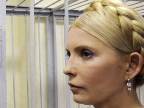 Состояние Юлии Тимошенко обеспокоило даже Януковича