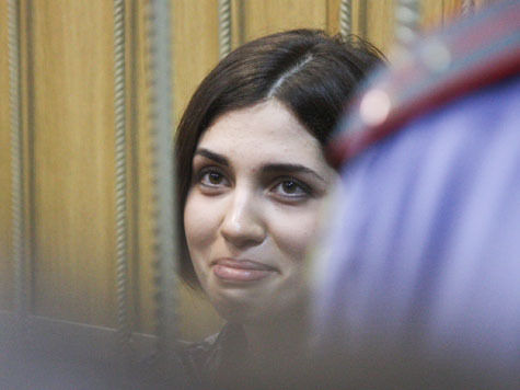 Толоконникова получила 15 суток карцера