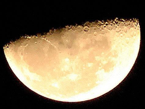 Луна отрепетирует затмение