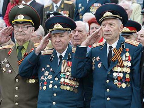 Гимн России, все встают