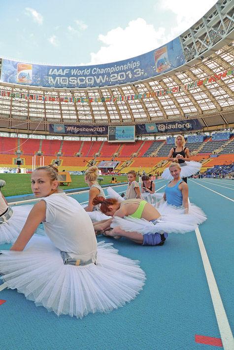 В Москву пожаловала Королева спорта
