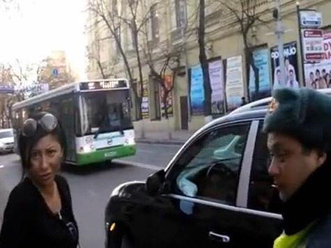 Администрация Ткачева открестилась от скандалистки на Porsche. ВИДЕО