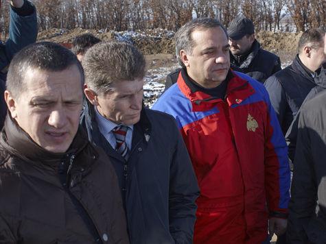 Благовещенск посетила правительственная комиссия по ликвидации последствий наводнения