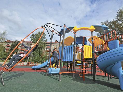 В Реутове выбрали детские площадки нового поколения