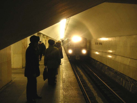 Живодер бросил щенка под колеса поезда в метро