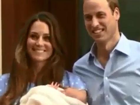 Принц Уильям и Кейт увезли Безымянного принца к себе домой