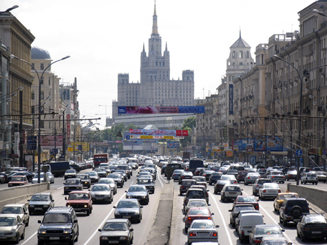 Транспорт Москвы едет в тупик